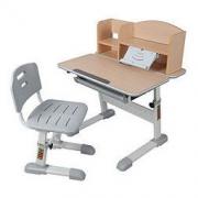 easy life 生活诚品 AU900 儿童桌椅套装 书桌 书架 单背椅 木纹色999元