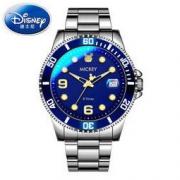 Disney 迪士尼 535蓝水鬼 男士防水夜光石英表