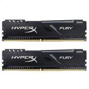 Kingston 金士顿 骇客神条 Fury系列 DDR4 2666 16GB(8GB×2)489元