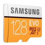 SAMSUNG 三星 存储卡 EVO黄色升级版 高速TF卡(Micro SD卡)128GB