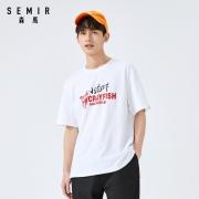 Semir 森马 12-049001368 男士棉质印花T恤