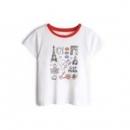 Gap 盖璞 女童圆领T恤低至32.08元(需用券)