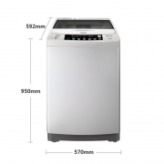 6日0点: Sanyo 三洋 DB9056S 波轮洗衣机 9KG