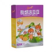 果仙多维V 酸奶溶豆儿童零食 柳橙味水果溶豆豆8.8g *2件