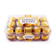 FERRERO ROCHER 费列罗 榛果金莎巧克力 375g 30粒 *3件209.79元(合69.93元/件)