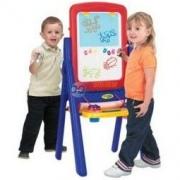 Crayola 绘儿乐 5033 儿童双面画板夹支架式 *2件