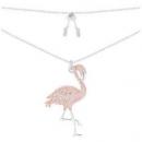 apm MONACO JANVIER系列 钻火烈鸟造型项链 *2件624元(合312元/件)