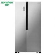Ronshen 容声 BCD-646WD11HPA 646升 对开门冰箱3299元