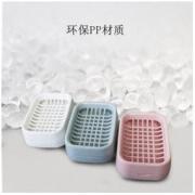 CHAHUA 茶花 双层沥水肥皂盒 3个装 *3件27.09元(合9.03元/件)