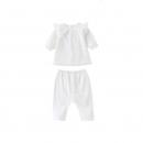 Annil 安奈儿 女童 长袖连衣裙套装 *3件99元(99元选3件,折合33元/件)
