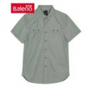 Baleno 班尼路 28804019 男士双口袋短袖衬衫低至35.4元/件