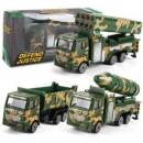 JIMITU吉米兔 金小汽车 男孩工程车儿童玩具套装 导弹车9.8元包邮(需用券)