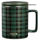 COSTA 咖世家 陶瓷马克杯带盖 355ml 78元包邮(需用券)¥78