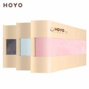 HOYO 法兰绒 亲肤毛巾 3条装