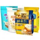 黑牛 即食 牛奶加钙燕麦片 880g 23.8元包邮¥24