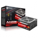 Apexgaming 艾湃电竞 AJ-650M 额定650W 全模组电源(80PLUS金牌)429元
