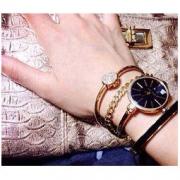 ANNE KLEIN 安妮·克莱因 AK/1470 女款时装腕表手镯套装462元