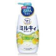 Cow 牛牌 牛乳石碱 柚子活力沐浴露 550ml *4件