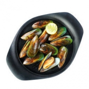 海鲜世家 Ωmega新西兰熟冻全壳青口贝 1.15kg 23-24只 袋装 原装进口 *5件134.95元(合26.99元/件)