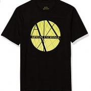 A|X Armani Exchange 阿玛尼副牌 男士经典标志短袖T恤