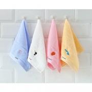 grace 洁丽雅 纯棉儿童毛巾 25*50m 4条装 14.9元(需用券)¥15