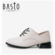 BASTO 百思图 RK521AM0 女士皮鞋