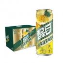 Coca-Cola 可口可乐 醒目Smart 菠萝啤酒味汽水 330ml*12听 *件36.9元(2件5折,合18.45元/件)