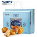 米旗 新法式乳酪酥饼 6粒礼盒装300g29.9元包邮(双重优惠)