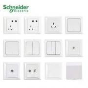 Schneider 施耐德 睿意 全屋插座套装 2室1厅(50只装)