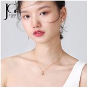 johnsongem SNA3919 女士独角兽银项链