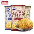 克恩兹玉米片170克*3包原味谷物膨化食品大包薯片零食美国进口19.9元