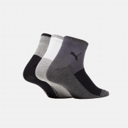 PUMA彪马 拼色短袜(三对装) QUARTER 90713019元包邮(需用券)