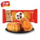 白菜价:华美 广式蛋黄红豆蓉月饼 80g*2枚6.8元包邮(需用券)