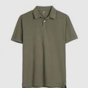 Gap 590069 男装纯棉透气短袖POLO衫夏季99元