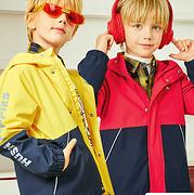 2020秋装新款,暇步士 儿童冲锋衣外套(105~170码)3色双重优惠后149.1元包邮