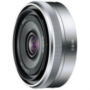 索尼(SONY)E 16mm F2.8 APS-C广角定焦微单相机镜头 E卡口(SEL16F28)1699元