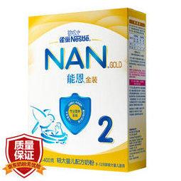 Nestlé 雀巢 能恩 婴儿配方奶粉 2段 6-12个月 400g *2件