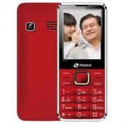 K-TOUCH 天语 T2 老人手机 移动联通2G 红色89元