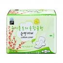 Eun jee 恩芝 超薄护翼夜用卫生巾 25cm*12片11元(可低至2.4元包邮,需淘金币)