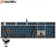 REACHACE 达尔优 108键 合金版 黑色 黑轴 机械键盘