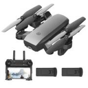 IDM 折叠遥控飞机 无人机航拍 儿童玩具 40CM1080P摄像【两块电池+终身保修】208元(需用券)