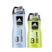 adidas 阿迪达斯 男士三合一沐浴露 400ml+250ml19.9元包邮(需用券)