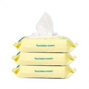 全棉时代 湿巾婴儿小包手口湿纸巾宝宝新生儿 15*20cm 80片/包 3包/提 *3件167.79元(合55.93元/件)