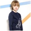 SOUHAIT 水孩儿 AQECM562 男童卫衣T恤59.5元