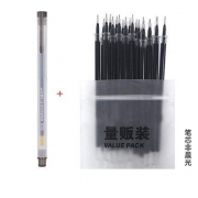 M&G 晨光 中性笔1支+笔芯20支(非晨光)1.9元包邮(2元券)