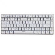 AJAZZ 黑爵 极客AK33 机械键盘 青轴 白色 单色