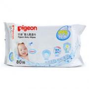 PIGEON 贝亲 婴儿柔湿巾80片 *2件15.84元(合7.92元/件)