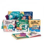 babycare 婴儿玩具布书6本装