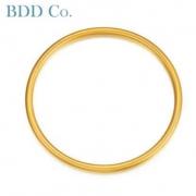 BDD Co. HS0000191 古法闭口黄金手镯 约17.17g