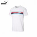 6日0点、限新会员:PUMA 彪马 586040 男子休闲印花短袖T恤49.5元